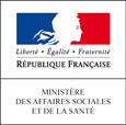 Logo ministère des affaires sociales et de la santé