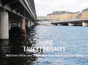 Conférence Eaux et Paysages